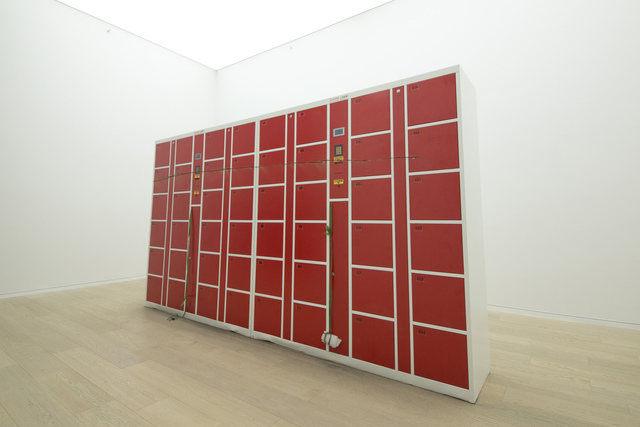 , 'Untitled (Coin Locker Sculpture),' 2012, Simon Lee Gallery