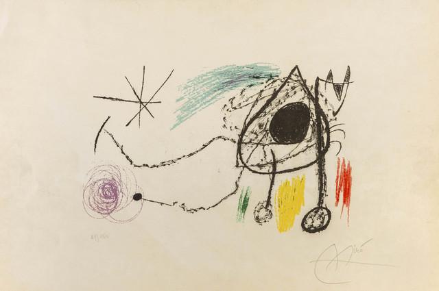 Joan Miró, 'Couverture pour l'exposition 'Sobreteixims i Escultres', Barcelona, 1972', 1972, ArtRite