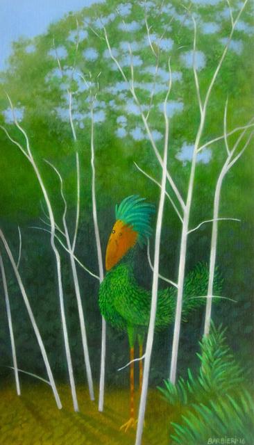 , 'Stevenson's Plumed Birchbird,' 2016, Gallery NAGA