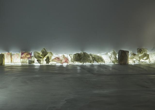 , 'Crumpled Memory,' 2016, Mind Set Art Center