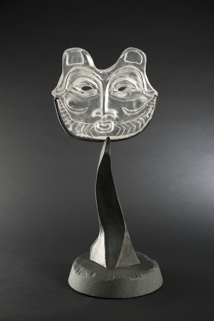 """She Who Watches"" by Lillian Pitt