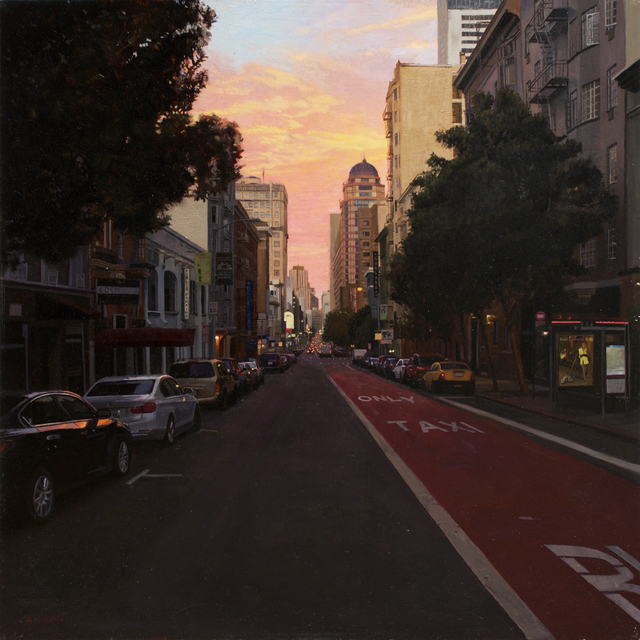, 'Sunset over Union Square,' 2015-2016, Gallery 1261