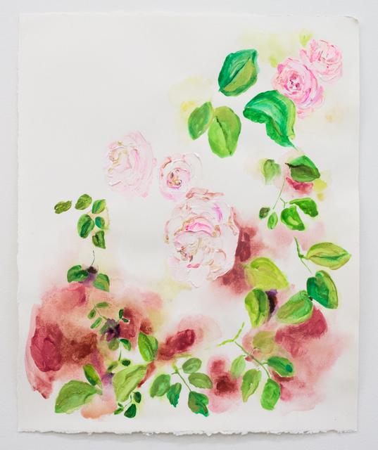 Elisa Johns, 'Wild Roses', 2018, Morgan Lehman Gallery