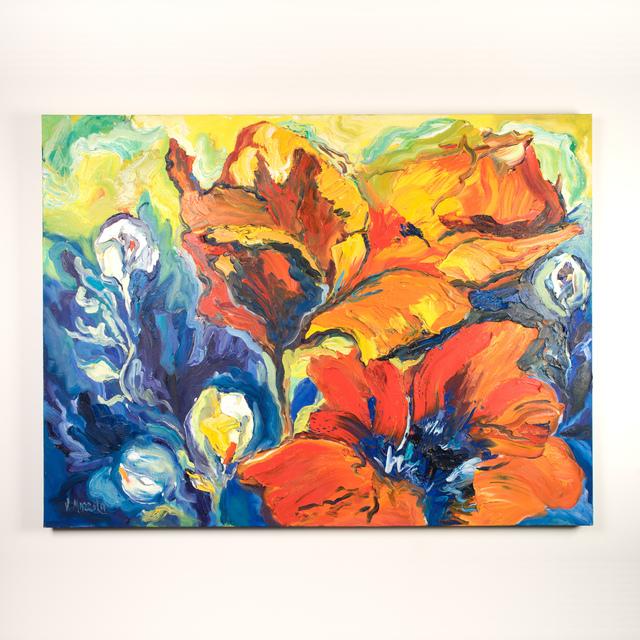 , 'Big Poppies,' 2018, Ruckus Art Gallery
