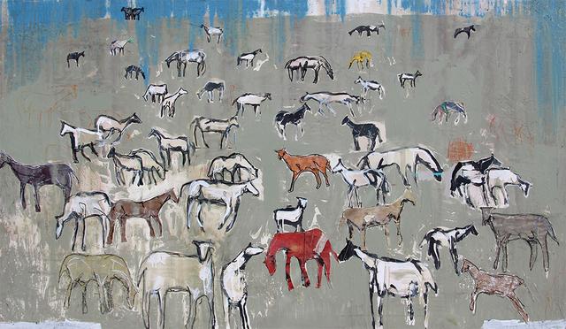 , 'Herd of 47 for JH,' 2019, Bau-Xi Gallery