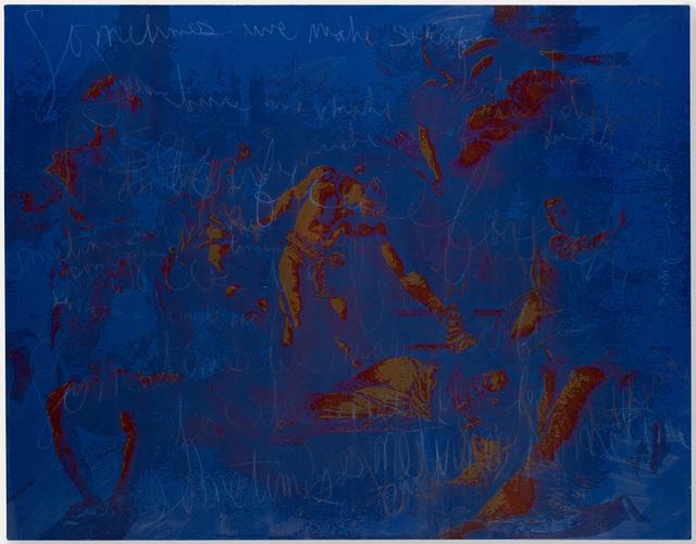 , 'The Martyrdom of Saint Matthew,' 2017, Pippy Houldsworth Gallery