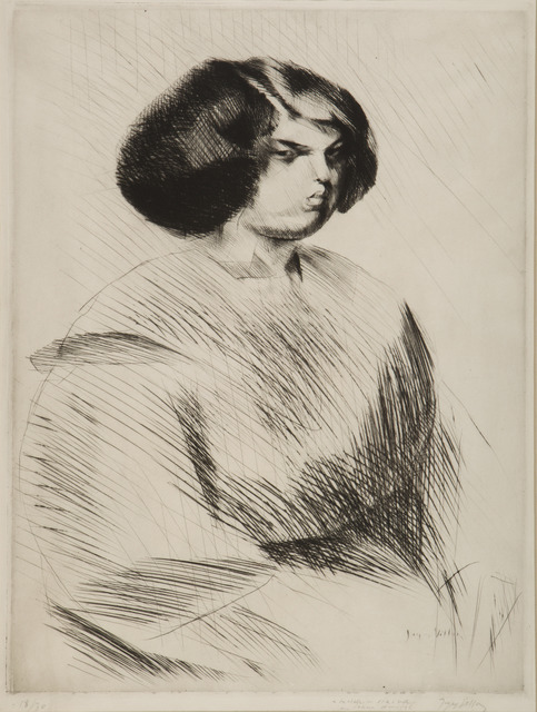 , 'Renée de Trois Quarts,' 1911, Childs Gallery