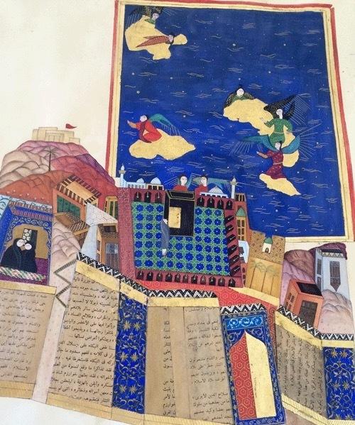 , 'makkah,' 2015, Hafez Gallery