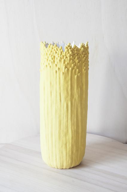 , 'Vase ascensionnel floral L jaune sablé au cœur blanc ,' 2019, Rademakers Gallery