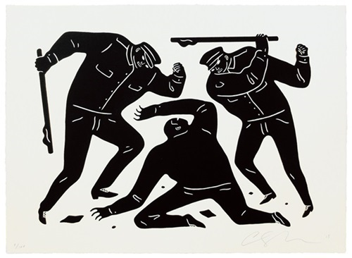 Cleon Peterson, 'Civil Rights (Black Edition)', 2015, Dope! Gallery