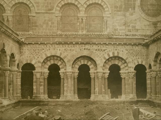 , 'Vue d'Ensemble du Cloitre, Cathedrale Notre-Dame, Le Puy (Haute-Loire),' 1851, James Hyman Gallery