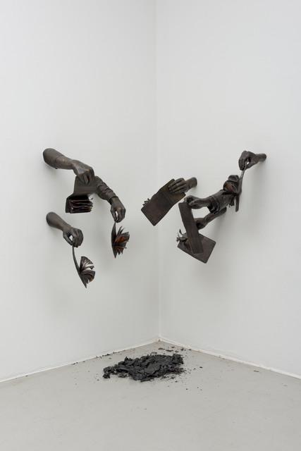 , 'Die Dompas Moet Brand ! (The Passbooks Must Burn!),' 2014, MARUANI MERCIER GALLERY