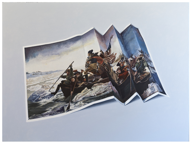 , 'Washington Crossing the Delaware,' 2016, Mindy Solomon Gallery
