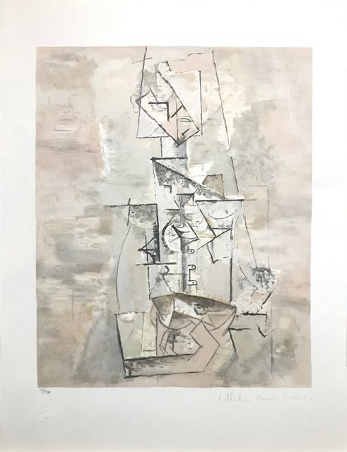 Pablo Picasso, 'FEMME A LA MANDOLINE', 1979-1982, Reproduction, LITHOGRAPH ON ARCHES PAPER, Gallery Art