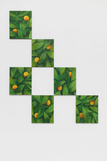 , 'Untitled (Orange),' 2020, Galerie Nordenhake