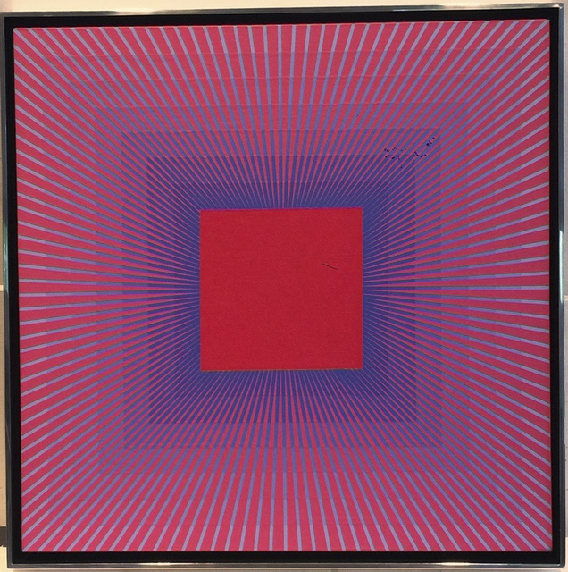 , 'Dynamic Red with Blue,' 1977-2017, McClain Gallery