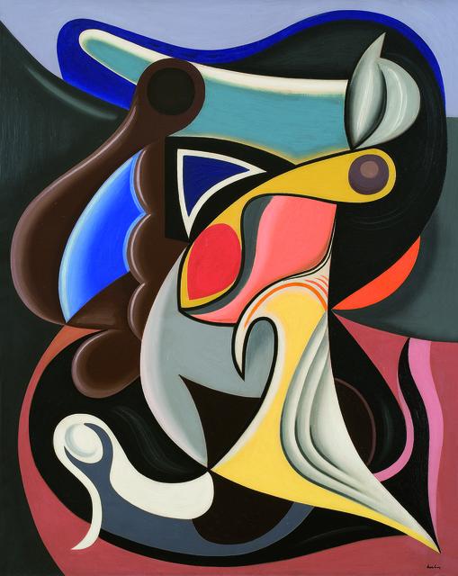 , 'Spirale dynamique,' 1928, Galerie Le Minotaure