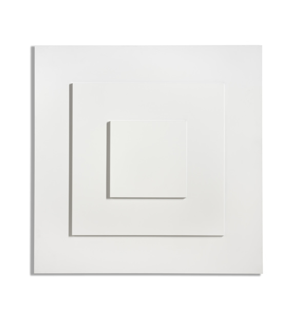 , 'Reliëf met drie vierkanten/Relief with three squares,' 1972, BorzoGallery