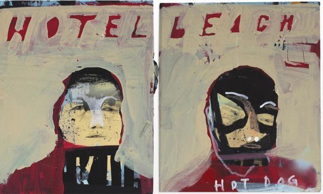 , 'Hotel Beach Boys' Diptych,' 2018, Galerie Kornfeld