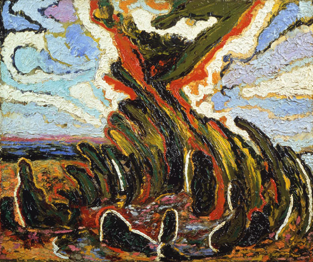 , 'The Burning Bush,' 1941, Newark Museum