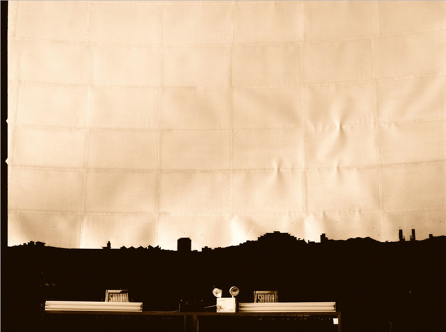 , 'Southeast Silhouette: La Carlota Airport Fragment, Humboldt Planetarium, c. 1960. Nostalgic Apparatus, Caracas: Heaven's branch on earth,' 1998, Henrique Faria Fine Art