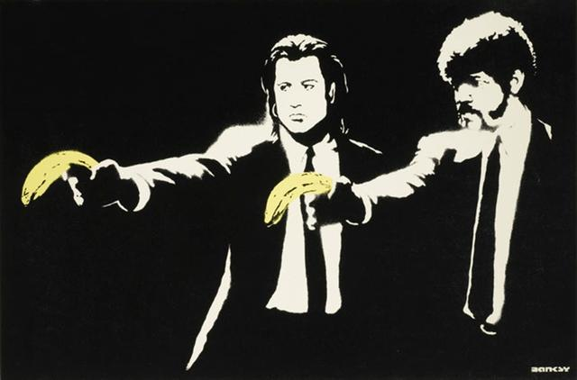 Banksy, 'Pulp Fiction - Unsigned', 2004, Hang-Up Gallery