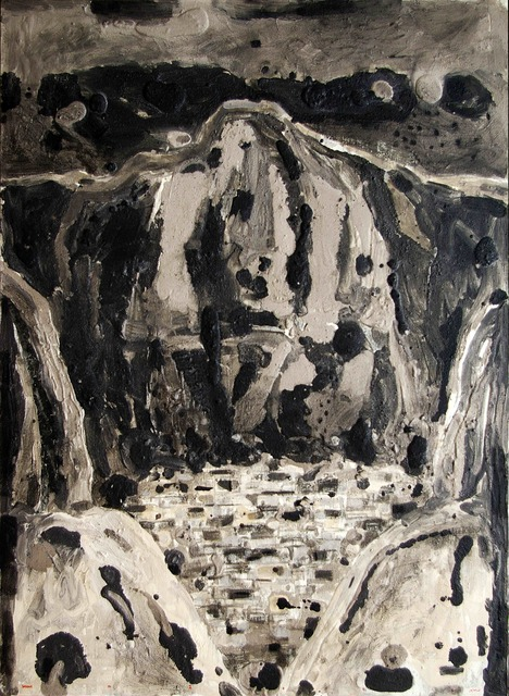 Nizar Sabour, 'MAALOULA', 2015, Painting, MIXED MEDIA ON CANVAS, Mark Hachem Gallery