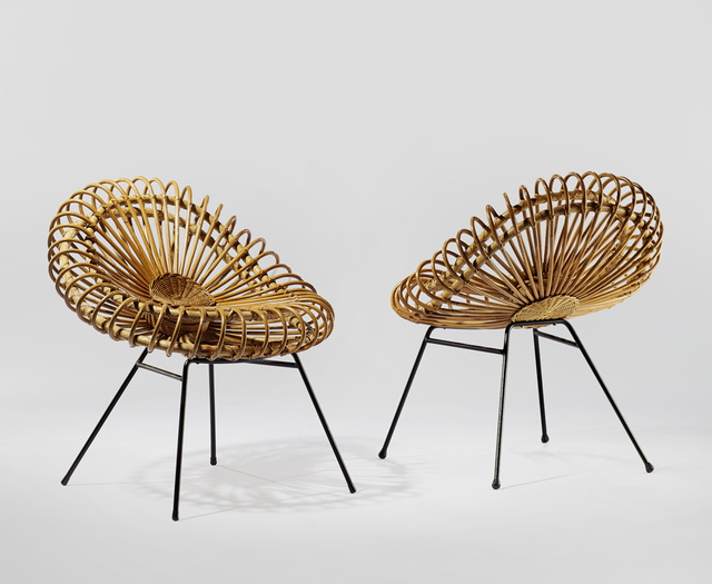 , 'Pair of Corolle Chairs,' 1957, Demisch Danant