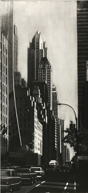 Richard Haas, '57th St Looking East', 2007, Stone + Press Gallery