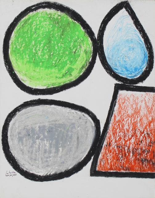 , 'Untitled (Nov 20),' 1981, Inman Gallery