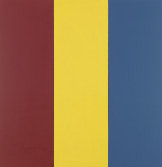, 'Red Yellow Blue I,' 1974, Gagosian