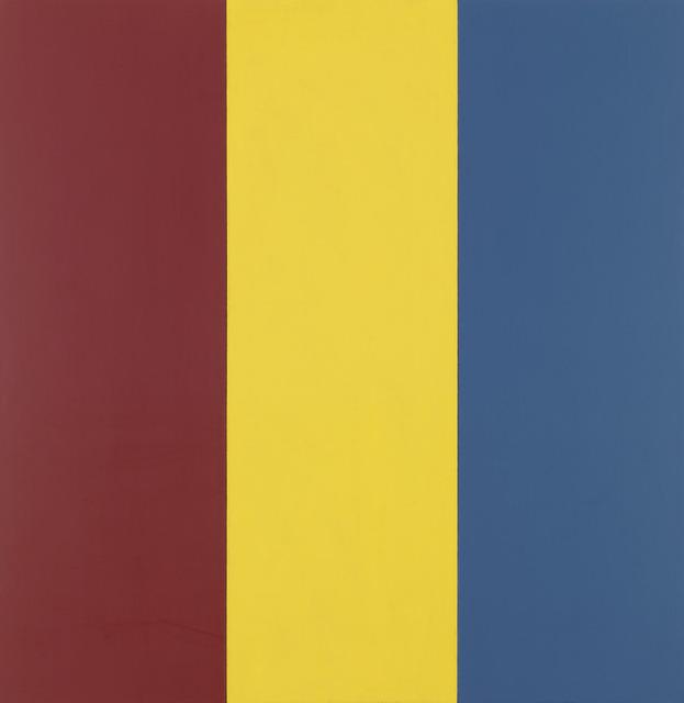 , 'Red Yellow Blue I,' 1974, Gagosian Gallery