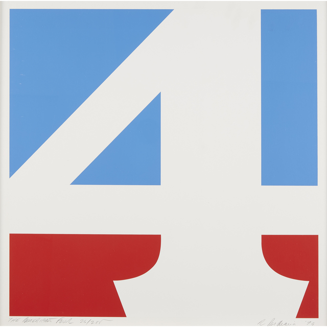 Robert Indiana, 'The American Four', 1970, Print, Color screenprint on white Schoellers Parole double paper, Freeman's