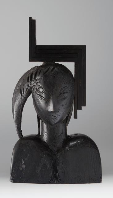 Manolo Valdés, 'Ivonne II', 2002, Sculpture, Bronze with dark green patina, Phillips