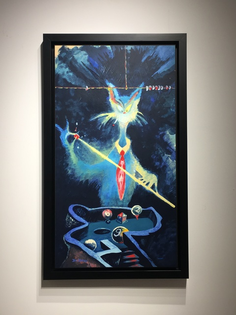 Dr. Seuss, 'Dr. Seuss, Cat from the Wrong Side of the Tracks', 1990-1999, Oliver Cole Gallery