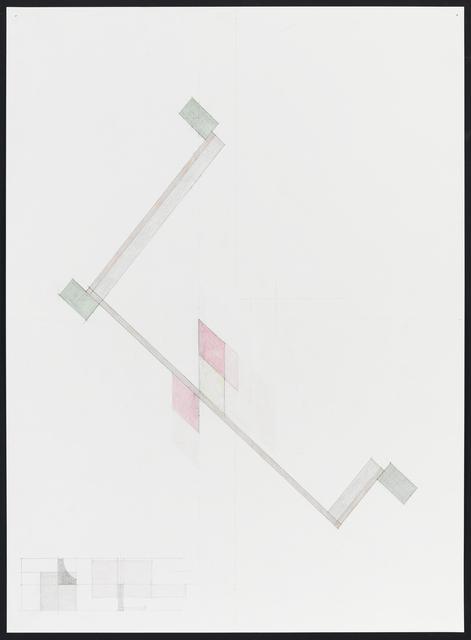 , 'Study for 15-05,' 2015, Rhona Hoffman Gallery
