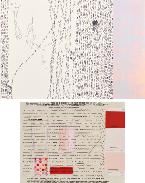 Haluk Akakçe, 'Untitled (To Living Area) and Untitled (Give a Quiet Illusion in Which to Live)', Rago
