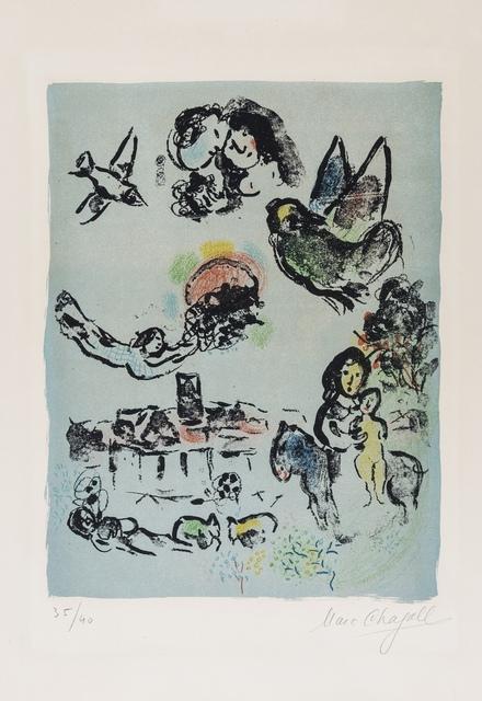Marc Chagall, 'Nocturne à Vence (M.400)', 1963, Forum Auctions