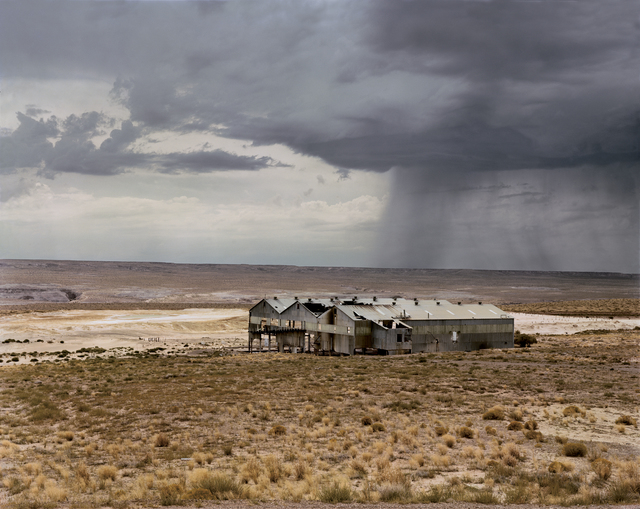 , 'Abandoned Uranium Refinery, Near Tuba City, Navajo Nation,' 1982, Beetles + Huxley