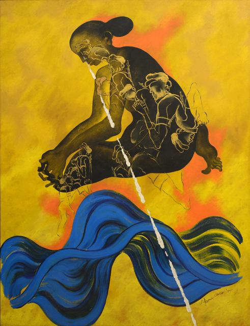 , 'Soldier's Mother,' 1995, Swaraj Art Archive