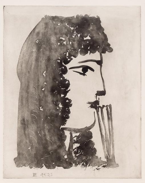Pablo Picasso, 'Carmen, de Profil', 1949, Leslie Sacks Gallery