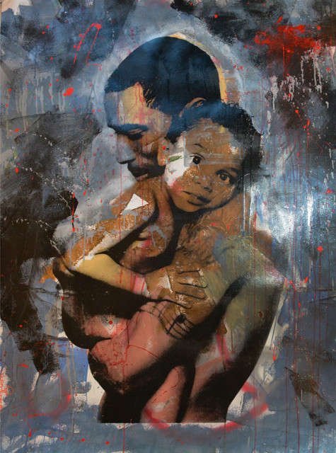 Skyler Grey, 'Love Father and Child (Red Rain)', 2014, Avant Gallery
