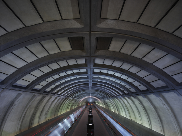 , 'Metro - Van Ness,' 2017, Contemporary by Angela Li