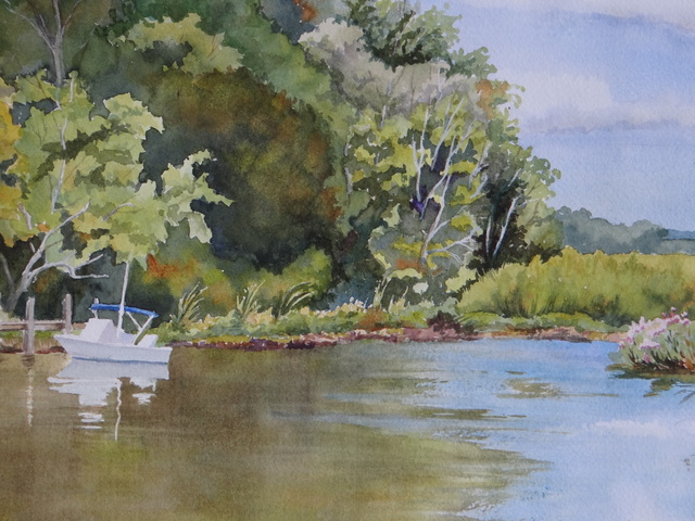 , 'On the Broadkill,' 2017, Peninsula Gallery