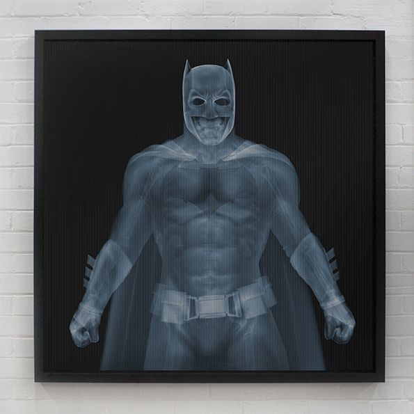 , 'Batman vs Superman,' 2016, Galerie de Bellefeuille