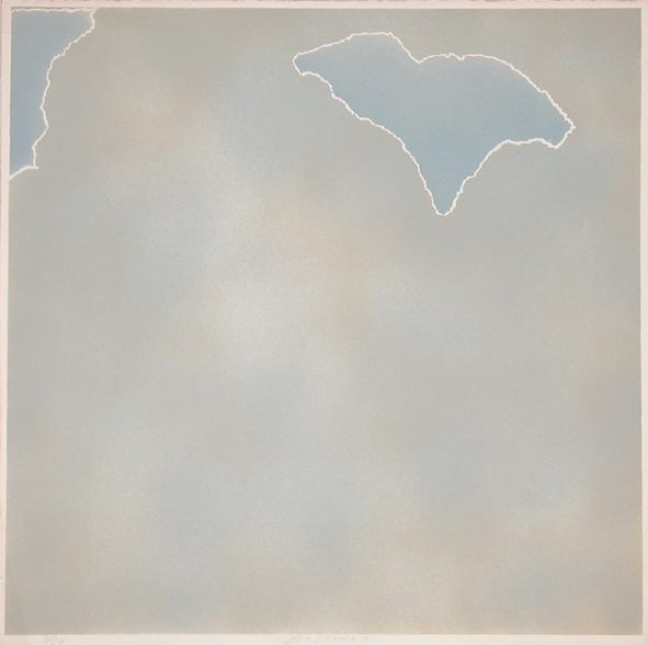 , 'Untitled (blue paper clouds),' 1971, Bernard Jacobson Gallery
