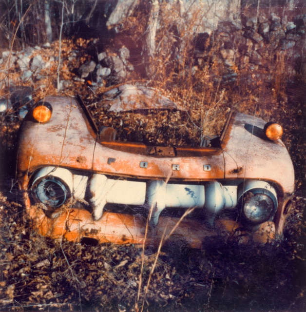 , 'Junk Yard Truck Grill, West Lyme, Connecticut,' 1973-1975, Vancouver Art Gallery