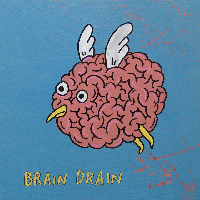 , 'Brain Drain,' 2008, Fouladi Projects