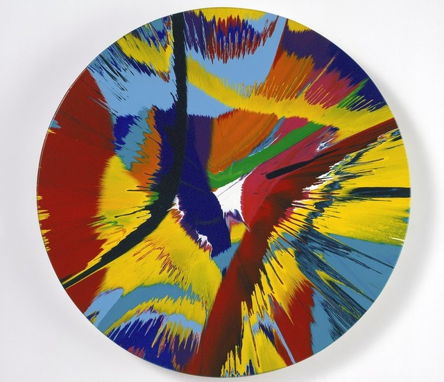 Damien Hirst, 'Beautiful Cannibals Salivating Over Your Juicy Calves, Tastes Like Chicken Painting', 2007, Baahng Gallery