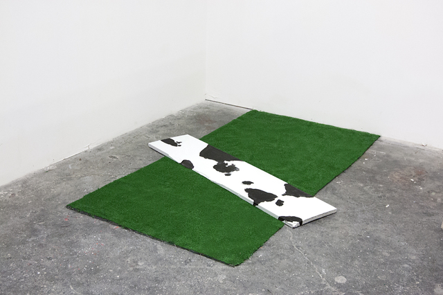 , 'Cow in a Landscape,' 2013, Robert Kananaj Gallery